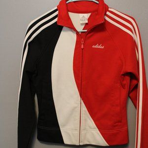 Vintage Adidas Fitted Track Jacket, Retro Style